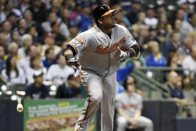 Nelson Cruz... (Photo Benny Sieu, USA TODAY Sports)