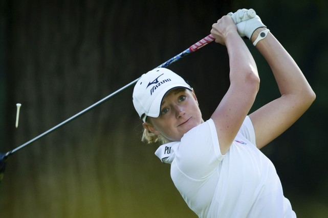 Stacy Lewis... (Photo Darryl Dyck, archives PC)