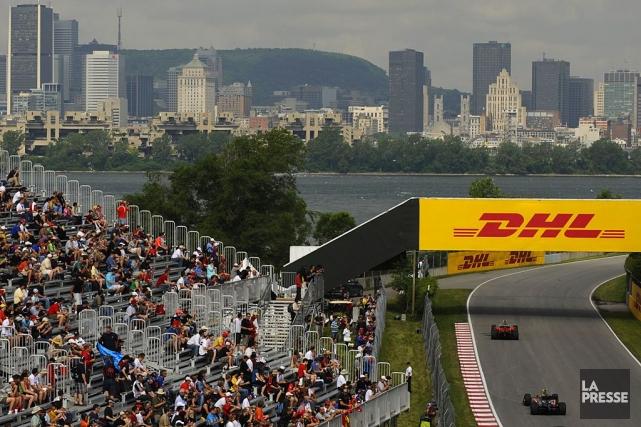 Le Grand Prix du Canada a lieu le... (Photo Bernard Brault, Archives La Presse)