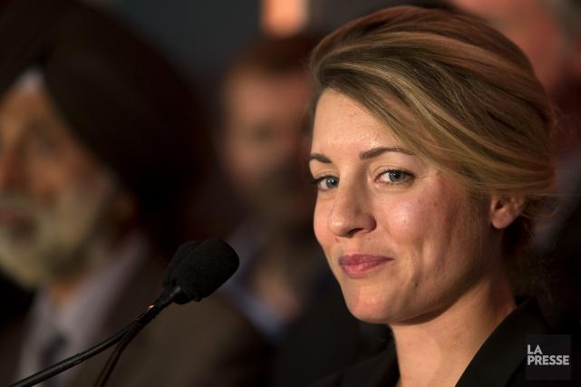 L'ancienne candidate à la mairie, Mélanie Joly, représente... (PHOTO ROBERT SKINNER, ARCHIVES LA PRESSE)