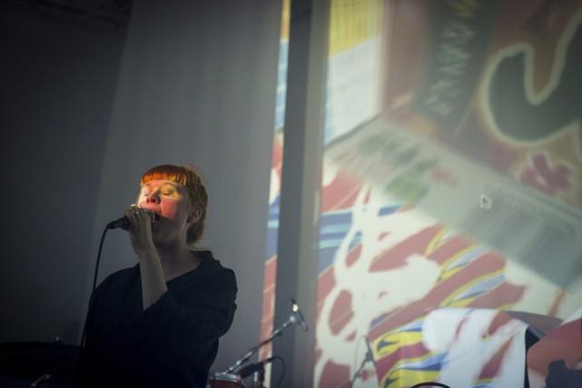 Holly Herndon... (Photo Caroline Hayeur, COllaboration spéciale)