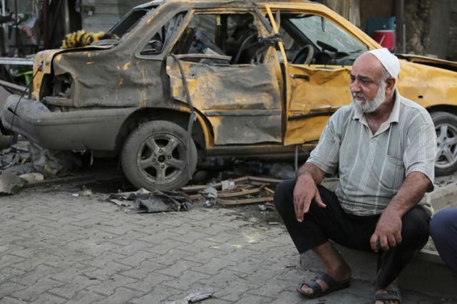 Plus de 900 personnes ont trouvé la mort dans les violences en Irak en mai, ont... (Photo: AP)