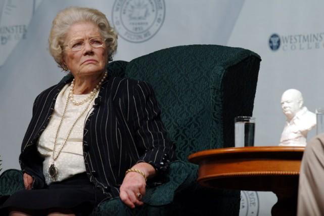 Mary Soames en 2006.... (Archives AP)