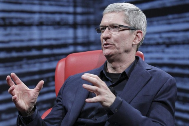 Le PDG d'Apple,TimCook, devrait donner un aperçu de... (PHOTOS REUTERS)
