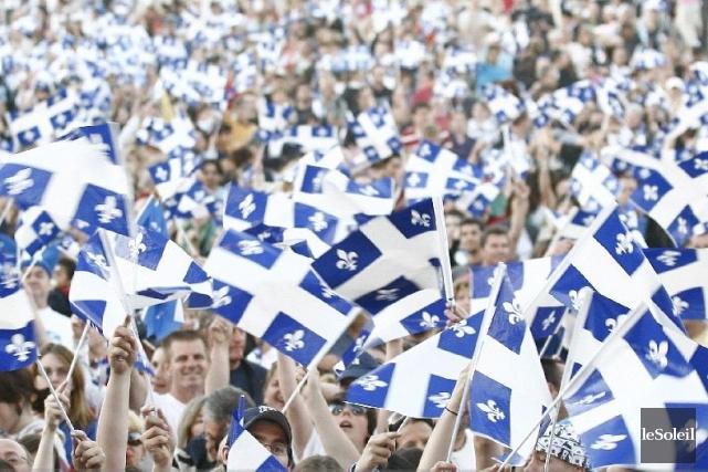 Une large majorité de jeunes Québécois rejette l'idée que le Québec devienne un... (Photothèque Le Soleil, Martin Martel)