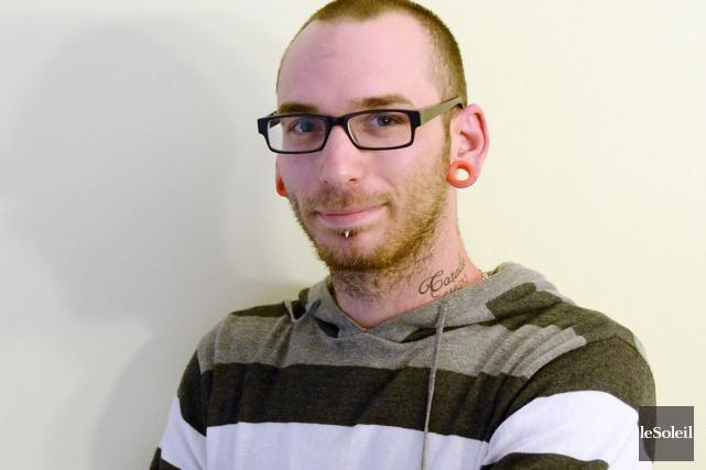 Marc Raymond, 24 ans... (Photo Érick Labbé, Le Soleil)