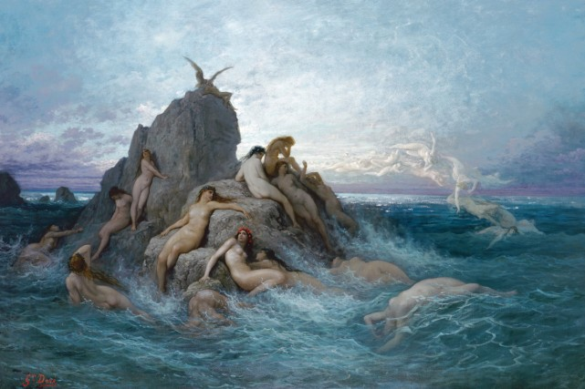 Les Océanides, dit aussi Naïades de la mer,... (Photo: fournie par le Musée des beaux-arts du Canada)
