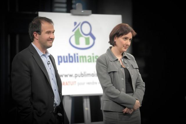 Pascal Bergeron etMarie-Lyne Genest de retour à Dans... (Photo: ICI Radio-Canada Télé)