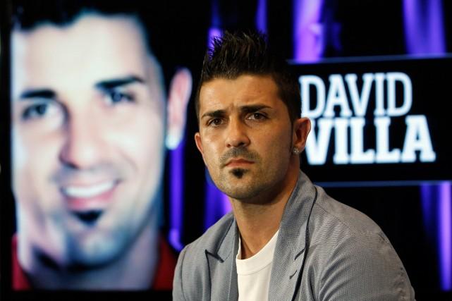 L'attaquant David Villa a aidé l'Espagne à gagner... (Photo Andres Kudacki, archives AP)