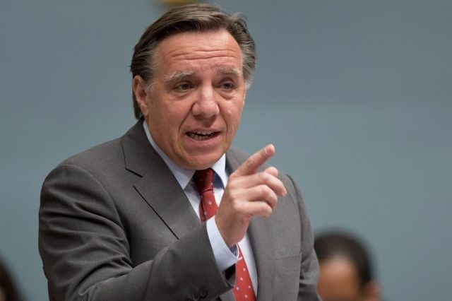 Le chef caquiste François Legault.... (PHOTO ARCHIVES LA PRESSE CANADIENNE)