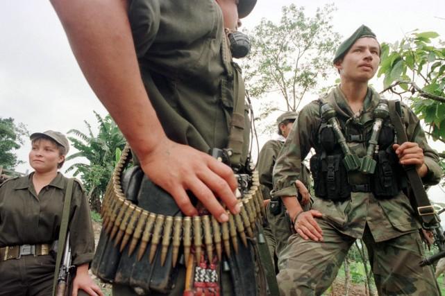 Principale guérilla du pays avec 7000 à 8000... (Photo MARCELO SALINAS, Archives AFP)