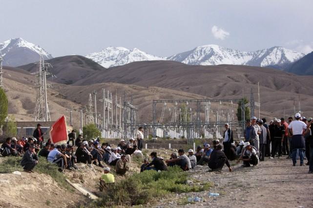 Premier employeur du Kirghizstan, Centerra n'a pas précisé... (Photo VLADIMIR PIROGOV, Archives Reuters)