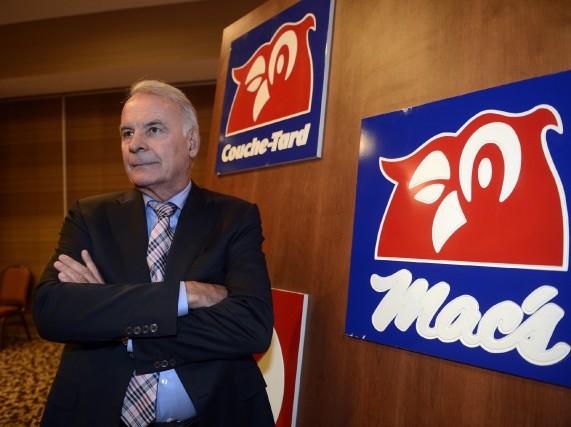 Le président d'Alimentation Couche-Tard, Alain Bouchard, a récemment... (Photo Ryan Remiorz, archives La Presse Canadienne)