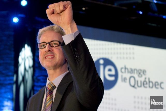 Après avoir claqué la porte du Parti québécois,... (Photo Robert Skinner, archives La Presse)