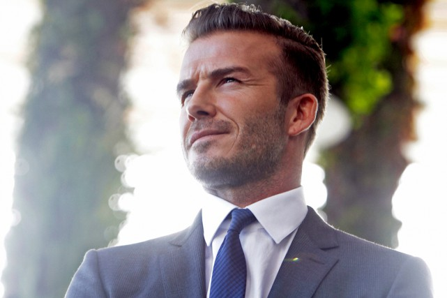 David Beckham... (Photo Alexia Fodere, archives AFP)