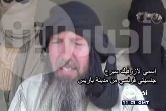 L'enlèvement avait été revendiqué par Al-Qaïda au Maghreb... (IMAGE TIRÉE DE YOUTUBE)