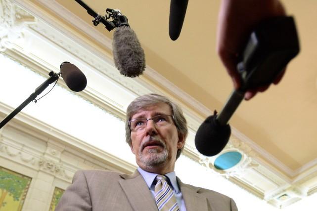 Daniel Therrien, candidat pressenti au poste de Commissaire... (Photo Sean Kilpatrick, La Presse Canadienne)