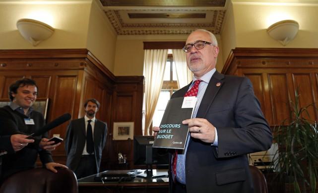 Le budget présenté aujourd'hui par le ministre des... (Photo Mathieu Bélanger, Reuters)