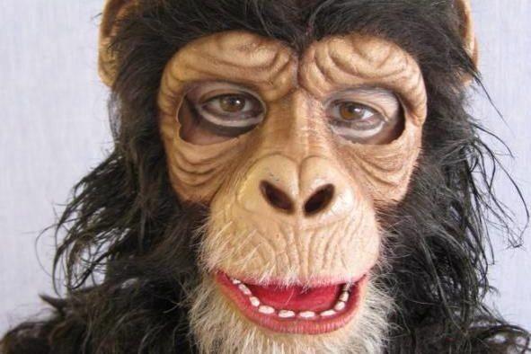 Un masque de gorille fait partie des accessoires... (Photo PC/Vancouver Police Department)