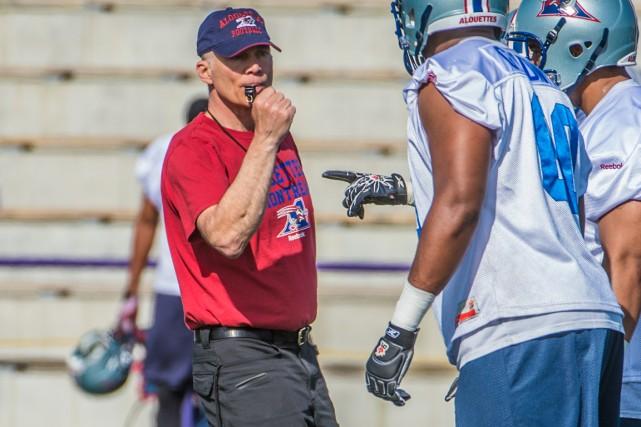 L'entraîneur-chef des Alouettes Tom Higgins supervisera les unités... (Photo fournie par les Alouettes de Montréal)