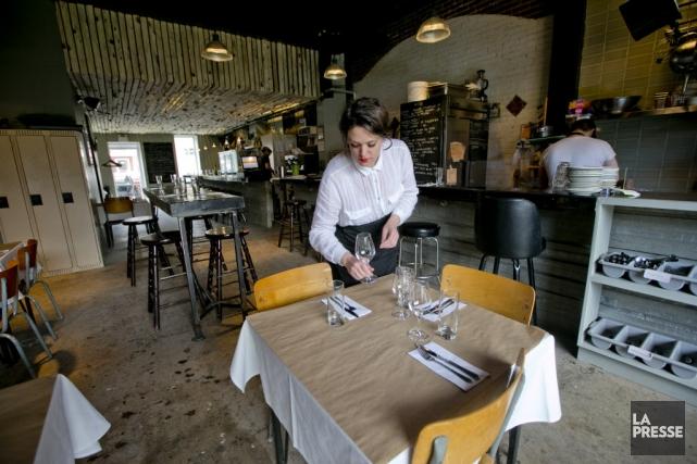 Au menu, le restaurant lancé par Elizabeth Cardin... (Photo David Boily, La Presse)