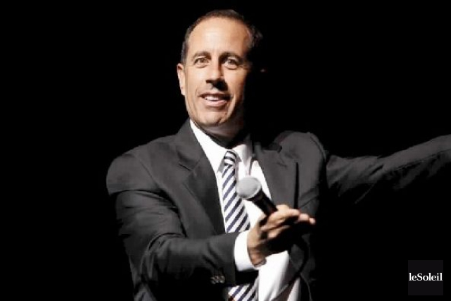 Jerry Seinfeld... (PHOTO ARCHIVES LE SOLEIL)