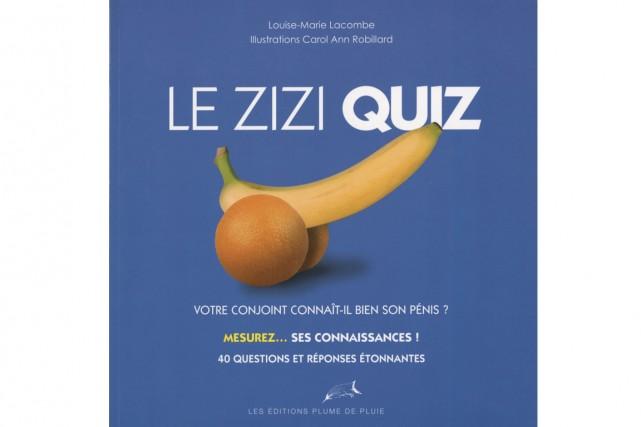 Louise-Marie Lacombe a entrepris une quête journalistique teintée... (Tirée du livre Le zizi quiz, de Louise-Marie Lacombe)