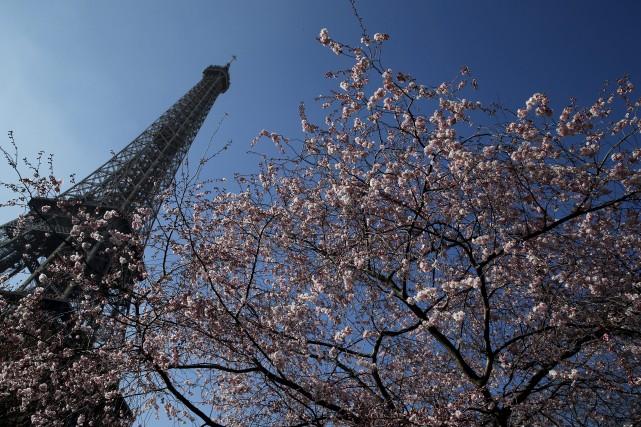 La Ville de Paris a officiellement lancé et... (Photo Archives AP)