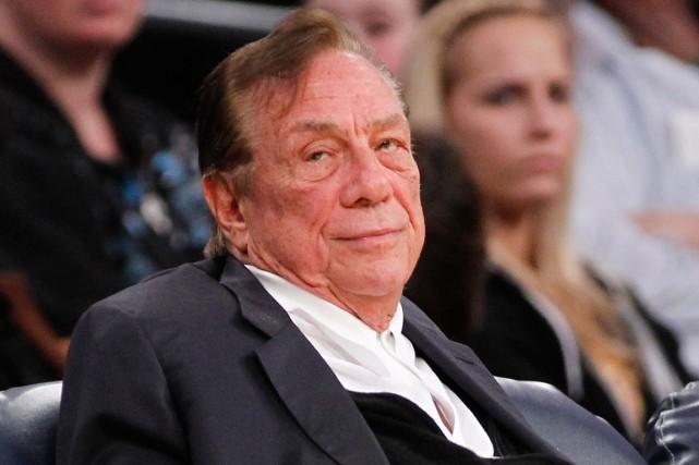 Donald Sterling, le propriétaire des Clippers de Los... (Photo Danny Moloshok, AP)