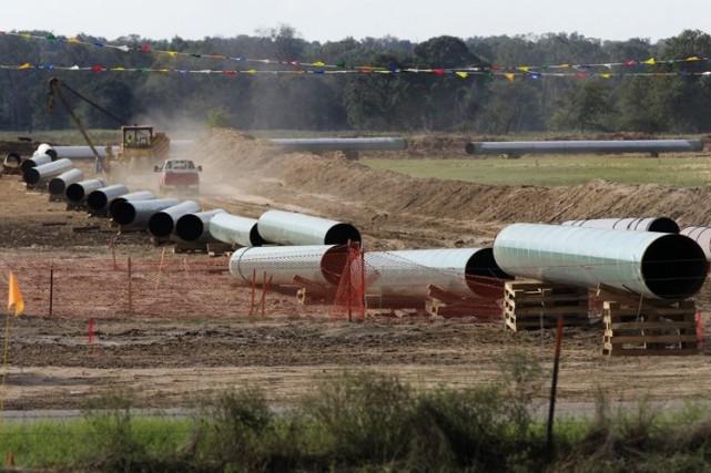 Le pipeline pourrait être complété et exploité durant... (Photo Archives AP)