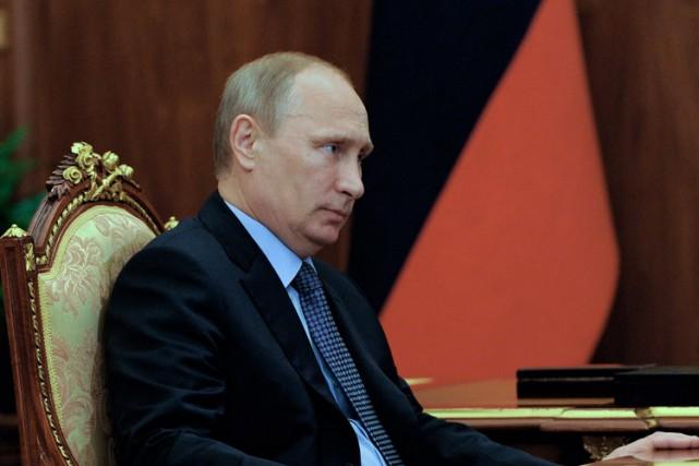 Vladimir Poutine... (Photo: AFP)