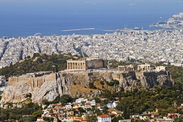 L'initiative «Rethink Athens» a pris la forme d'un... (Photo d'archives)