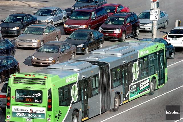 Dès 2014-2015, les sociétés de transport en commun,... (Photothèque Le Soleil, Jean-Marie Villeneuve)