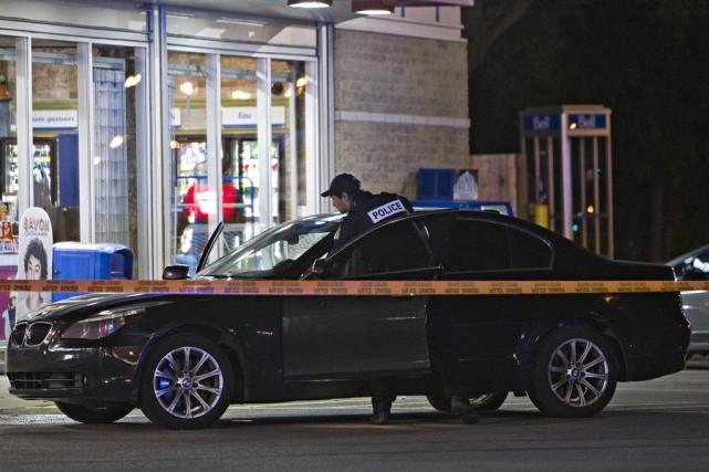 Un jeune homme a été poignardé au haut... (PHOTO FÉLIX O.J. FOURNIER, COLLABORATION SPECIALE)