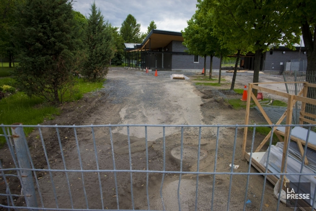 Le futur pavillon se veut «un peu comme... (Photo André Pichette, La Presse)