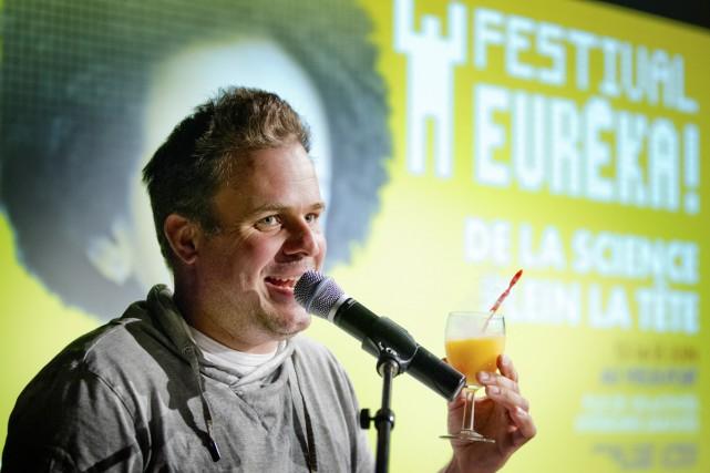 Le comédien Stéphane Bellavance, porte-parole de l'événement, souligne... (Photo: fournie par le festival)
