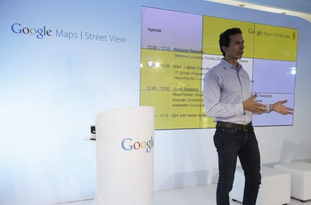 Le directeur de Google Grèce Stefanos Loukakos a... (Thanassis Stavrakis)