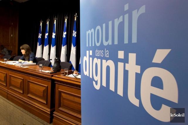 La ministre Christine St-Pierre votera contre le projet... (Phot Archives Le Soleil)