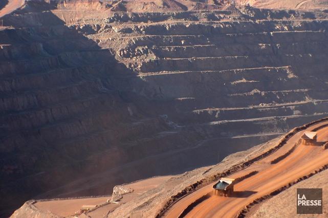 Les grandes compagnies minières sont contraintes de réduire la voilure dans un... (Photo archives AFP)