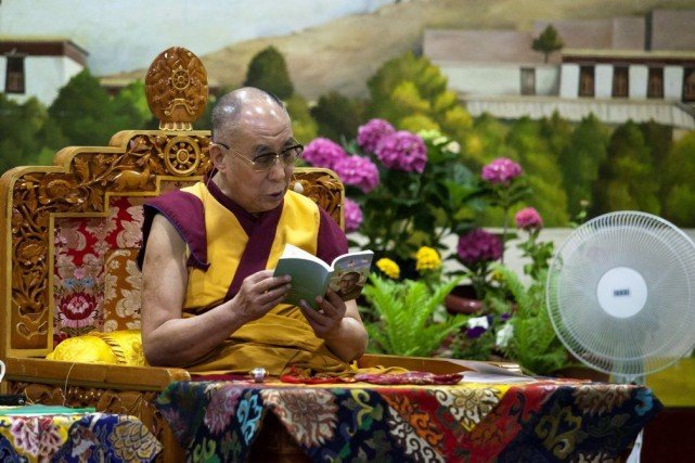 Dhondup Wangchen, cinéaste autodidacte, avait parcouru le Tibet... (Photo Ashwini Bhatia, AP)