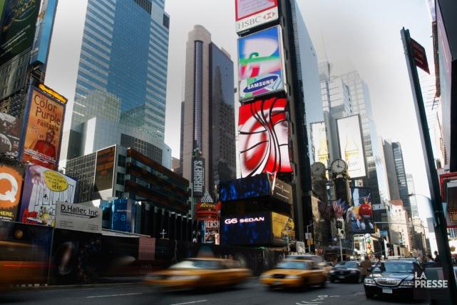 New York pour vos 30 ans? Oui, car... (Photo François Roy, Archives La Presse)