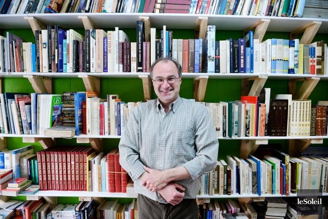 En faisant l'acquisition de L'Ancre des mots, Michel... (Le Soleil, Jean-Marie Villeneuve)