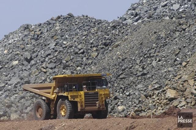 Pour l'industrie minière, la réduction du crédit d'impôt... (PHOTO ARCHIVES BLOOMBERG)