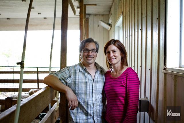 Michel Guérin et Brigitte Maillette auront une décision... (Photo Marco Campanozzi, La Presse)