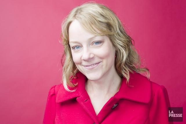 Catherine Girard-Audet, l'auteure de la populaire série de... (Photo: Olivier Pontbriand, La Presse)