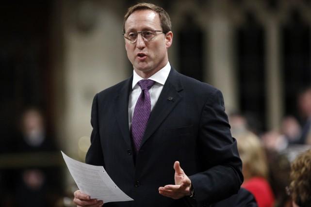 Le ministre canadien de la Justice, Peter Mackay... (Photo Blair Gable, Reuters)