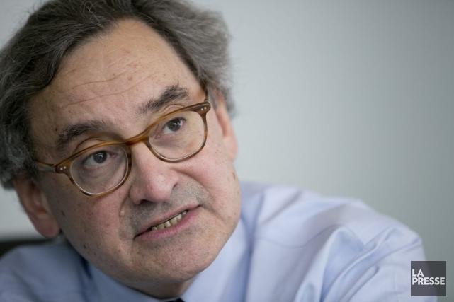 Michael Sabia, PDG de la Caisse de dépôt... (Photo David Boily, La Presse)