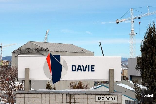 Le Chantier Davie Canada, à Lévis... (Photothèque Le Soleil, Erick Labbé)