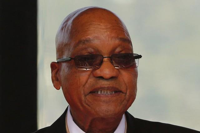 Le président sud-africain, Jacob Zuma.... (Photo Siphiwe Sibeko, AFP)