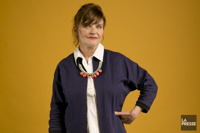 Diane Tell n'arrête pas beaucoup de travailler. La semaine dernière, elle était... (Photo David Boily, La Presse)